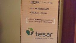 Tesar Magic Alfombra Felpudo Antideslizante Impermeable