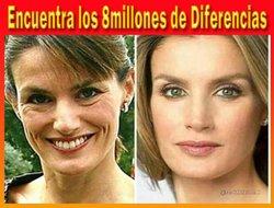 Diferencias, Diferente, Leticia, Reina, Periodista, imagen, foto, distinta, distintas.jpg